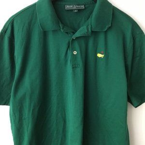 Masters Collection Polo Shirt Basic Golf Green L